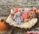 New- Ariana Full Body Solid Silicone OOAK Baby Doll sculpted, molded/cast by Dawn Bowie & reborn by Amy Kate Irwin~Ready to ship!